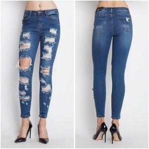 Essential Destroyed Jean